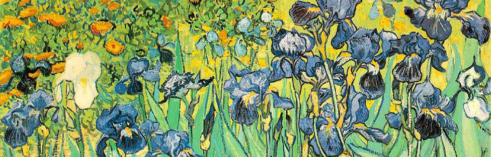 Vincent van Gogh, Iris, 1889, Paul Getty Museum, Los Angeles